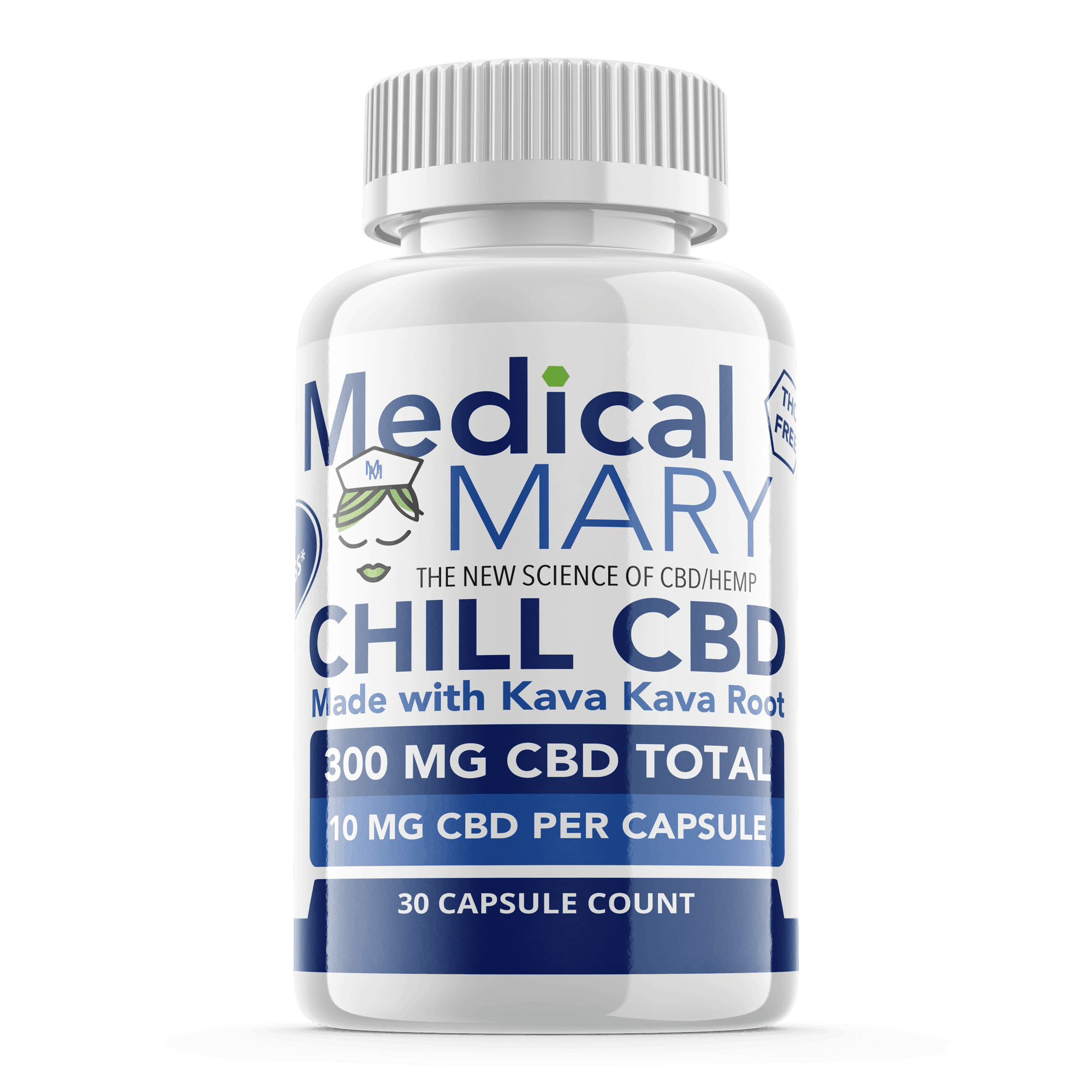 Best Capsules with CBD from Medical Mary Chill
