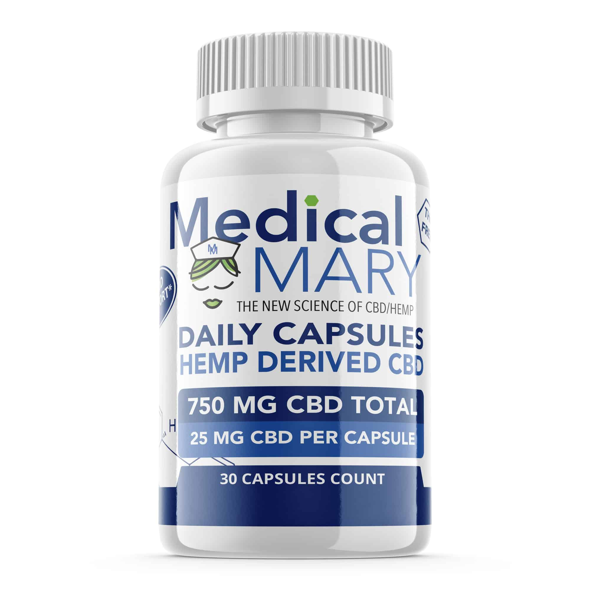 Best Daily Capsules CBD from Medical Mary