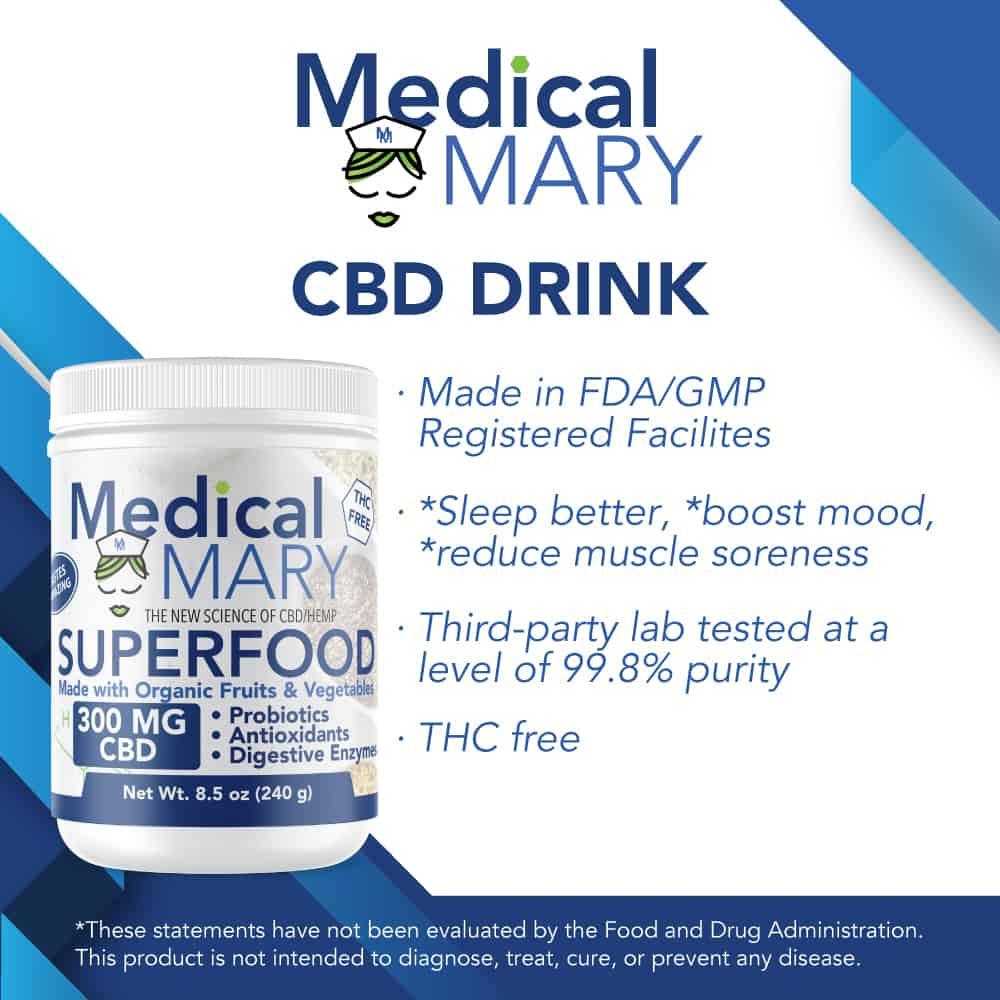 Medical Mary Drinks Best CBD Information