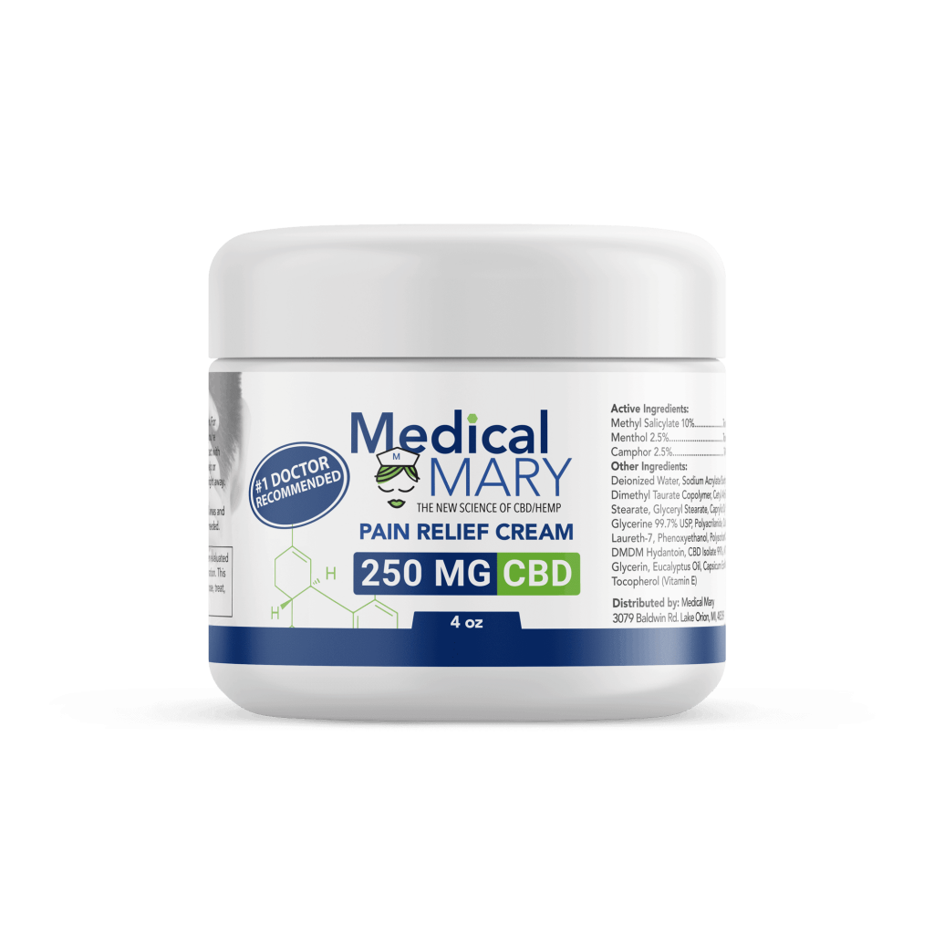 Best Pain Cream CBD from Medical Mary