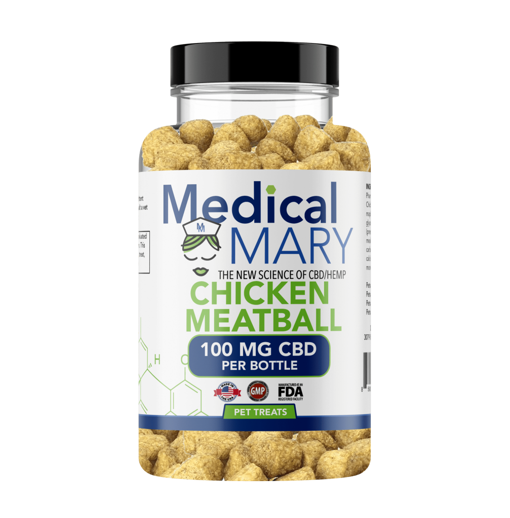 Chicken Meatball 100 MG CBD
