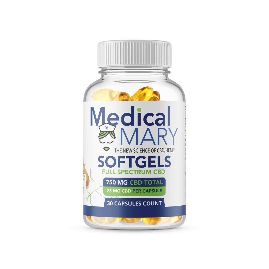 CBD Softgels 750