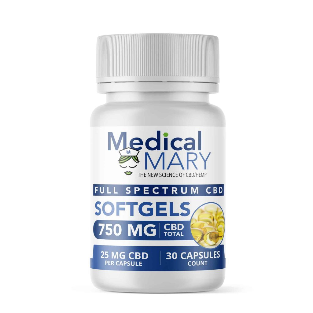 Medical Mary 25 mg Full Spectrum CBD